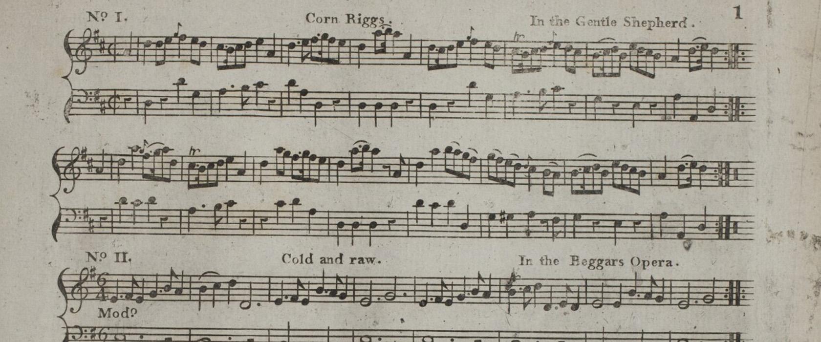 Historical Music of Scotland