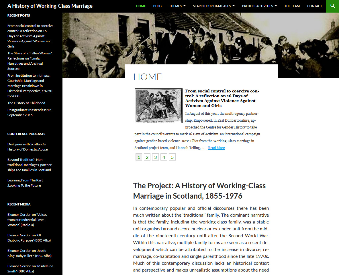The project's homepage