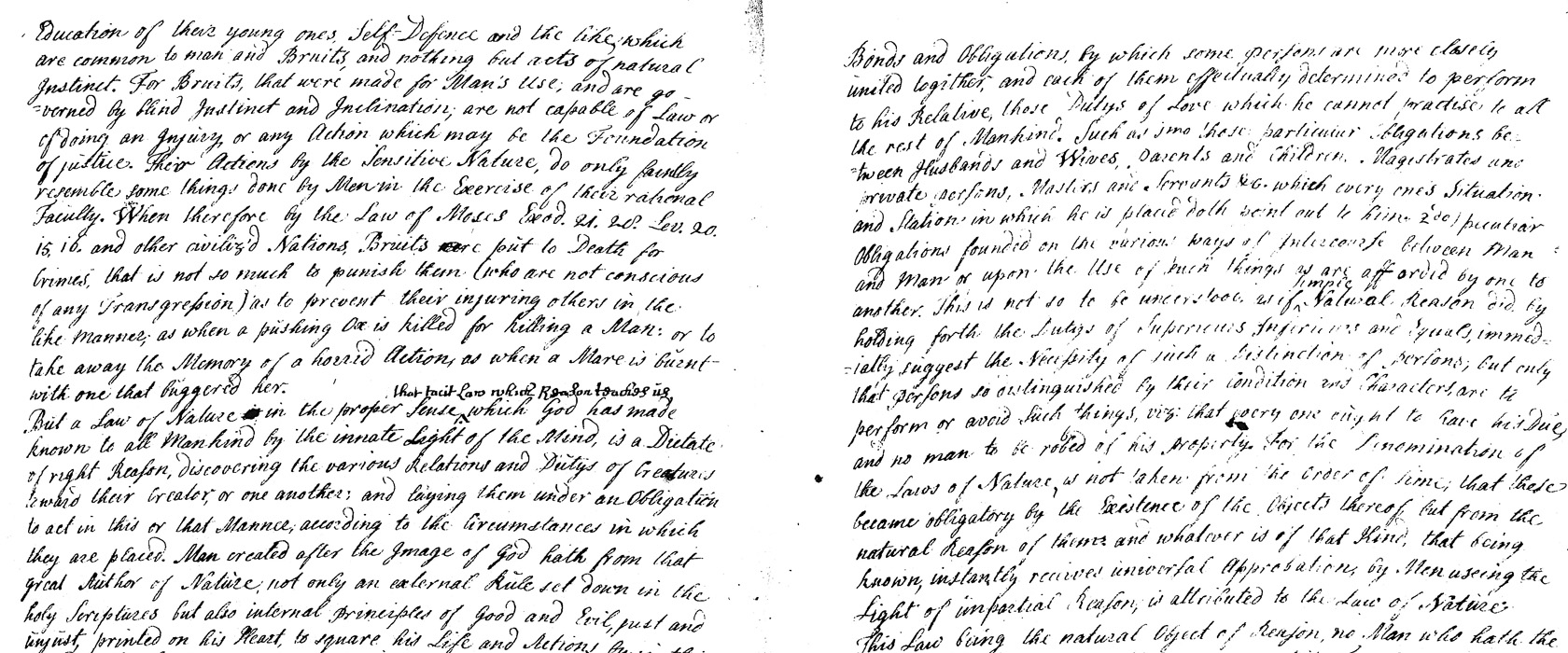 Forbes Manuscript - a great body of the law of Scotland