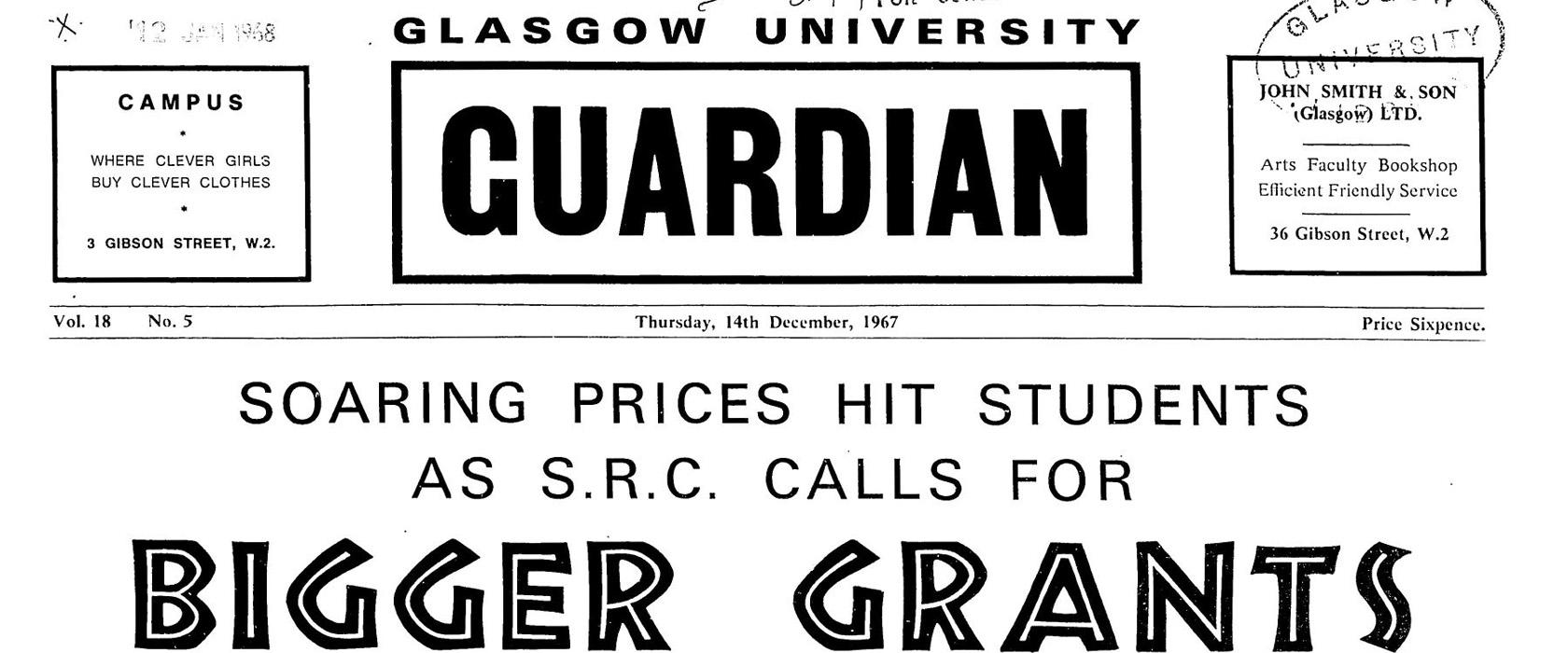 Glasgow Guardian Digital Archive