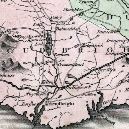 Place-Names of the Galloway Glens